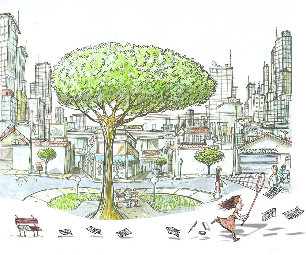 Ilustração Lézio Junior