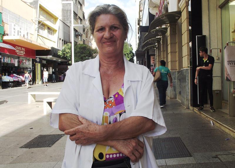 Maria enfermeira das ruas