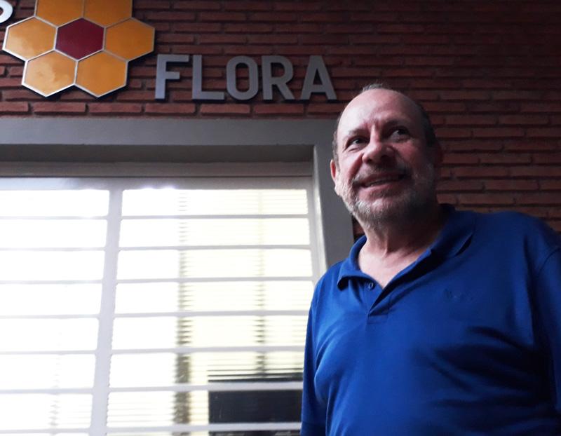 Manoel dono da Apis Flora Ribeirão Preto