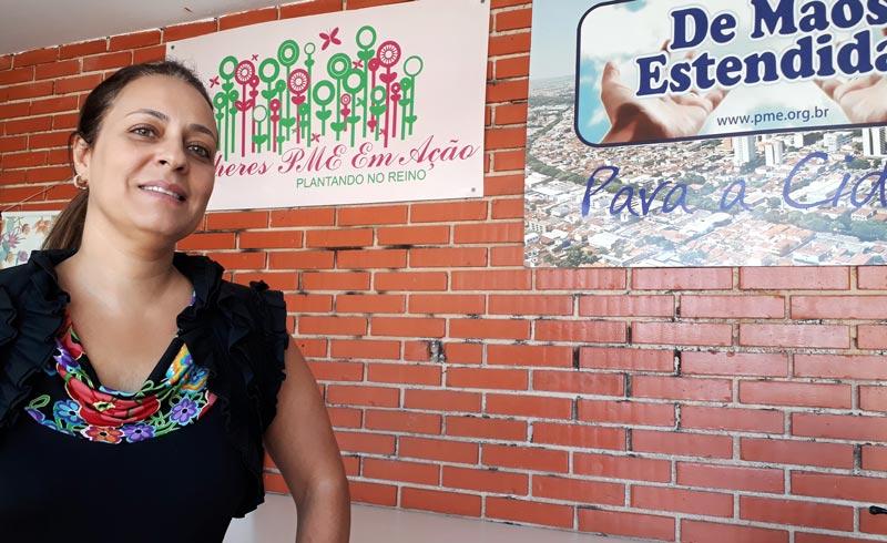 Márcia Pieri ONG Mãos Estendidas