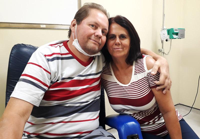 Fátima e Antônio - transplante de órgãos Ribeirão Preto - História do Dia (1)