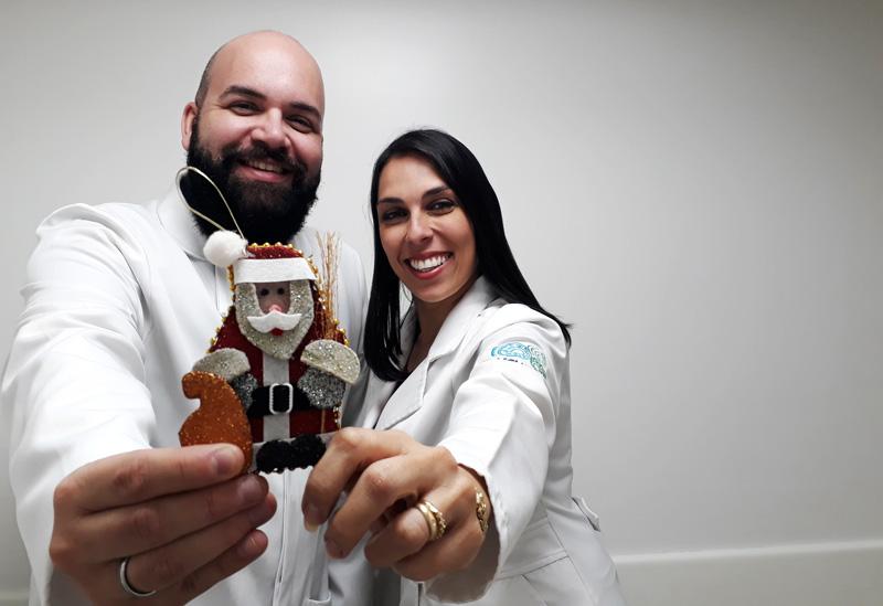 Felipe Areco Papai Noel hospitais inclinare psicologia ribeirão preto