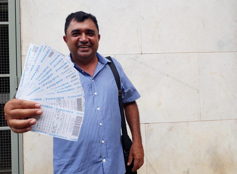 Daniel Piauí vendedor de Lotofácil Ribeirão Preto História do Dia