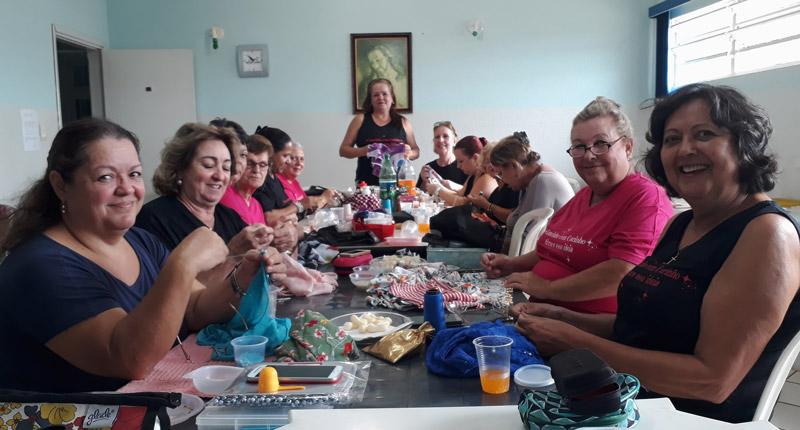 Lencinho com projeto mulheres com câncer Ribeirão Preto