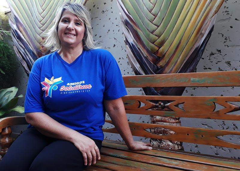 ONG amigos solidários Cristina Cerne História do Dia Ribeirão Preto
