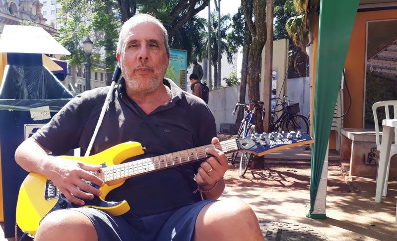 Pedro Afonso Graciotti guitarrista cego Ribeirão Preto História do Dia