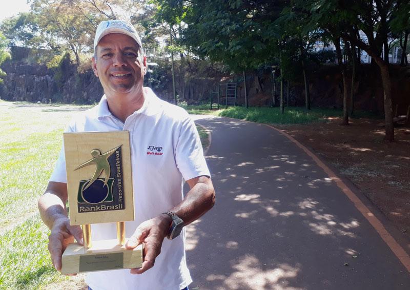Arilson Silva ultramaratonista ribeirão preto