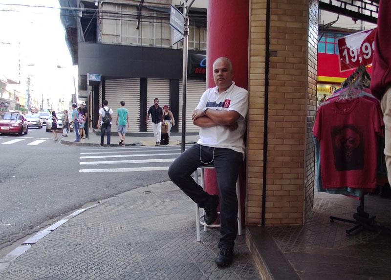 Valter Valeriano de Brito Filho segurança Centro Ribeirão
