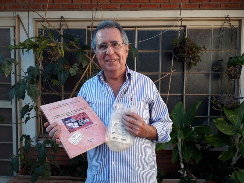 Armando Valladas Verceze criou a bolsa de sangue nacional