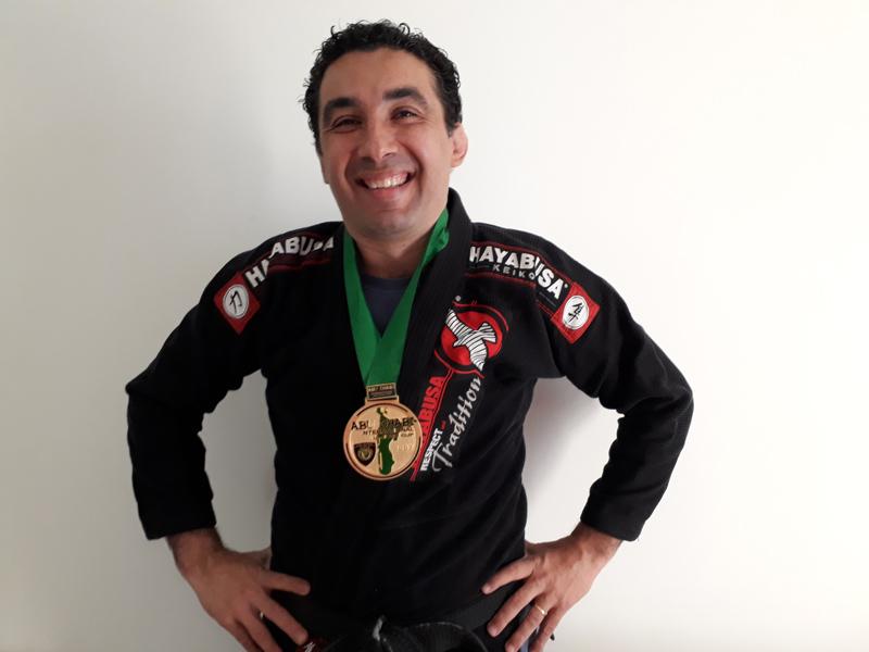 Sheid Fernandes campeão mundial de Jiu Jitsu