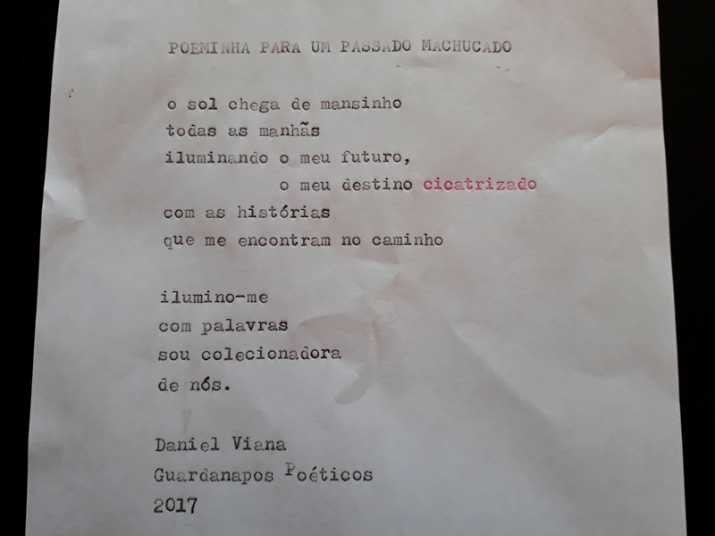 Daniel Viana projeto Balavra - Feira do Livro Ribeirão Preto