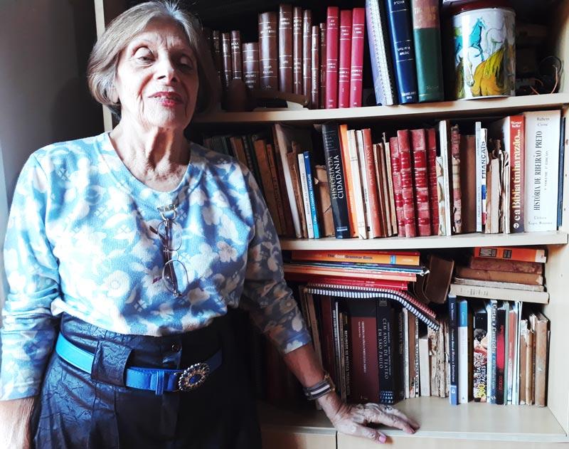 Rosa Cosenza escritora de Ribeirão Preto no História do Dia