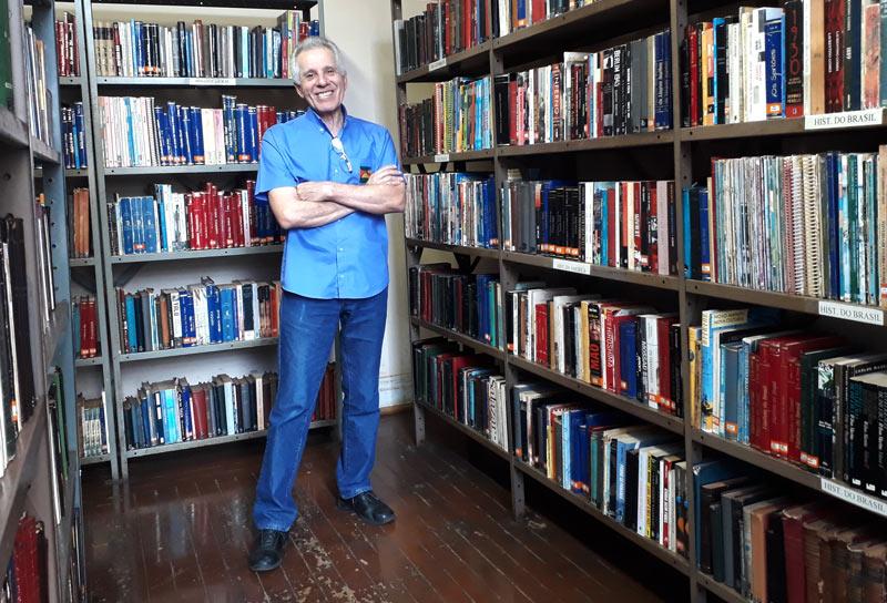 José Carlos biblioteca Altino Arantes Ribeirão Preto - História do Dia