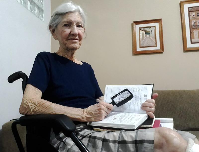 Dona Terezinha - mês do idoso - História do Dia