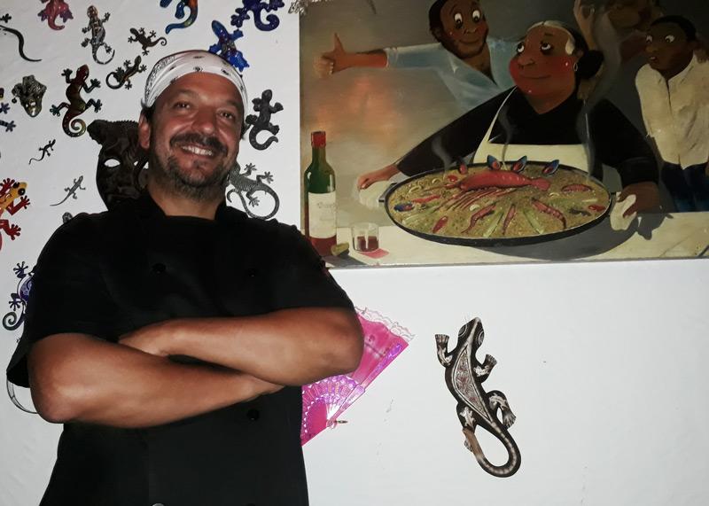 Chef Hugo restaurante Salamandra - História do Dia