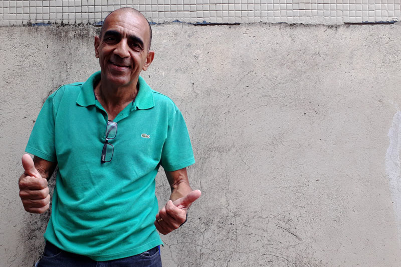 Wilson transformou a vida com exercício físico Hospital das Clínicas Ribeirão Preto