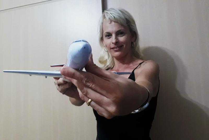 Amanda Pazemecxas mecânica aeronáutica Ribeirão Preto