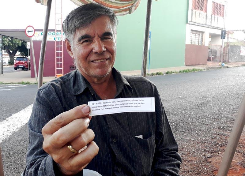 Sergio mensagens de fé avenida do Café Ribeirão Preto História do Dia