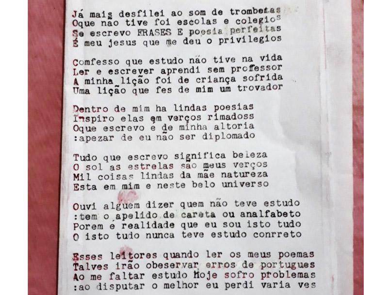 José Tomé escritor autodidata Ribeirão Preto - História do Dia