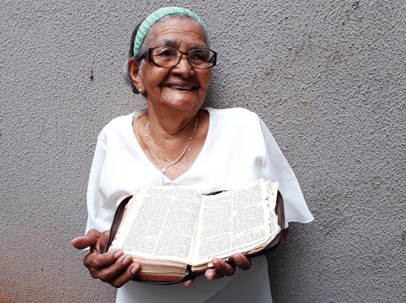 Damiana aprendeu a ler sozinha História do Dia Ribeirão Preto