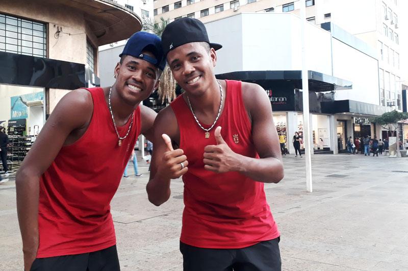 Dupla Swingueira e Quebrada Ribeirão Preto dança História do Dia