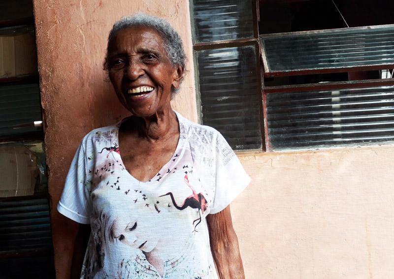 Elvira idosa de 104 anos Ribeirão Preto História do Dia