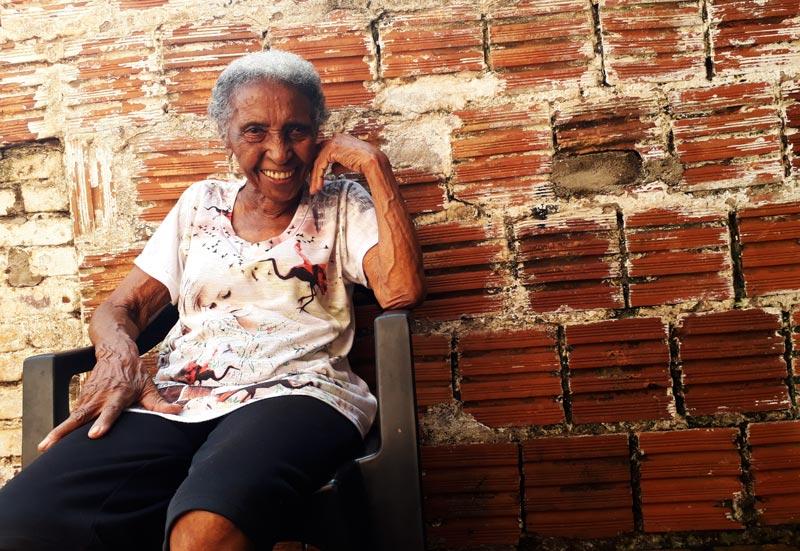 Elvira Prudenciana Domingos idosa de 104 anos Ribeirão Preto História do Dia
