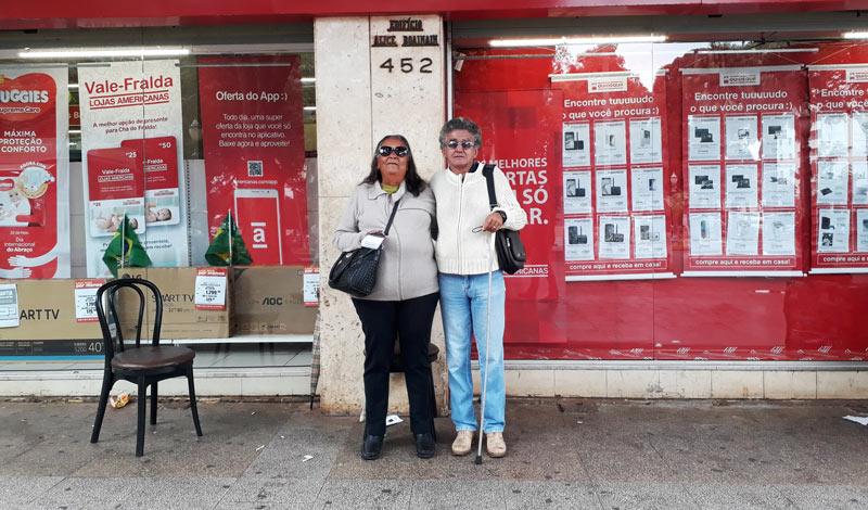 Maria do Carmo vende bilhetes no Calçadão de Ribeirão Preto História do Dia