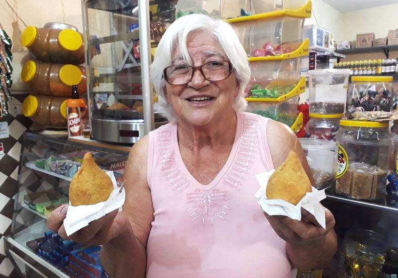 Bar da Tia Nena Ipiranga melhor coxinha de Ribeirão