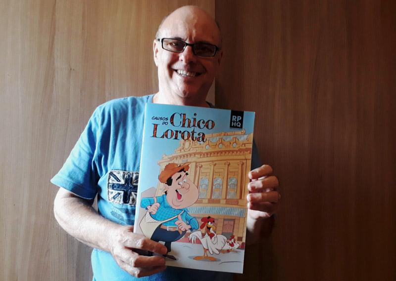Gerson escreve histórias da Turma da Mônica há 18 anos