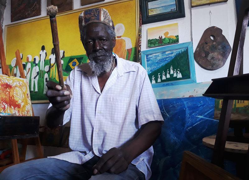 Macalé artista ribeirão preto cultura negra