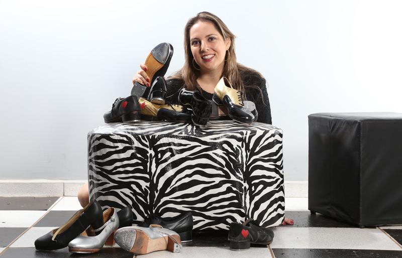 Juliana Garcia escola de sapateado
