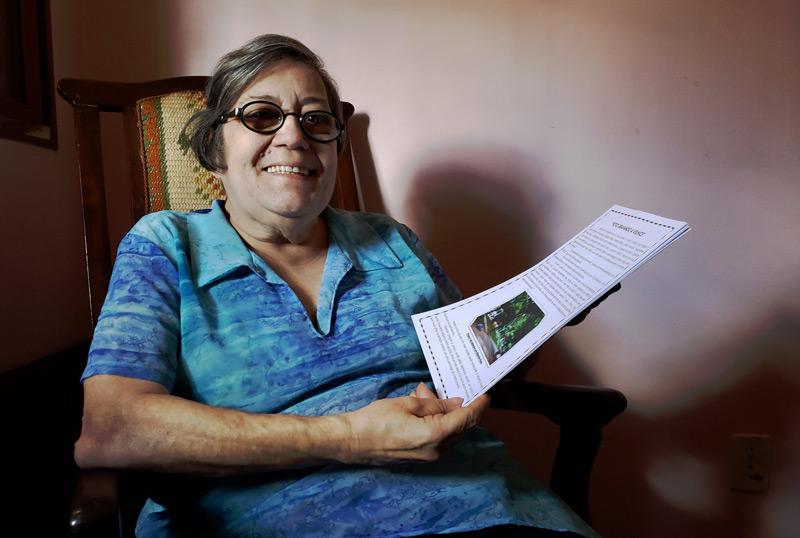 Inspirada em Cora Coralina, Tânia transforma em palavras as vivências de seus 72 anos