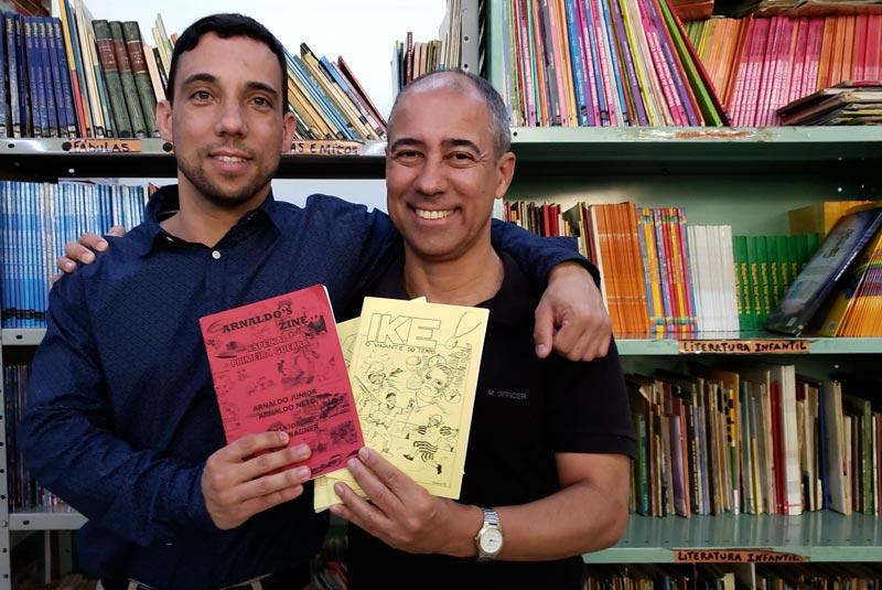 Arnaldo Bacco arte e educação História do Dia