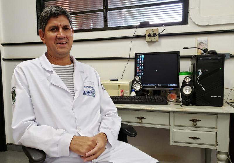 Márcio Penha biólogo