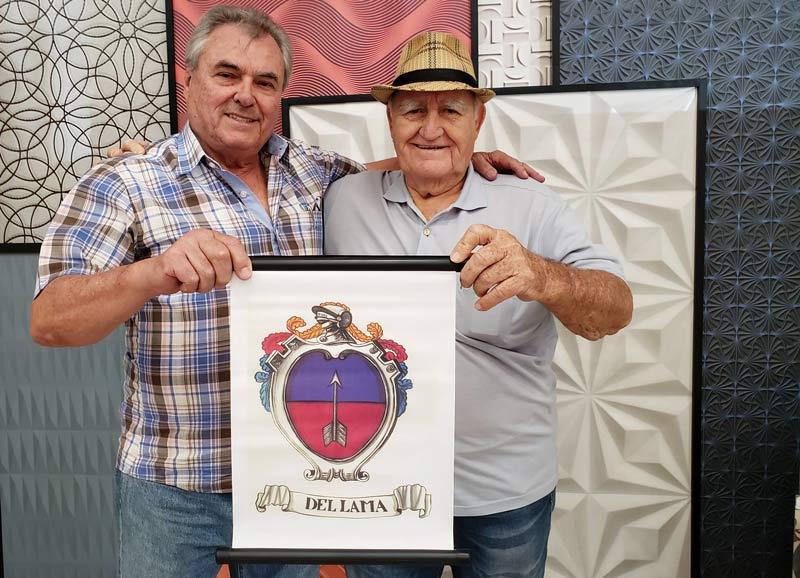 Geraldo e José Luiz: dois retratos da grande família Del Lama