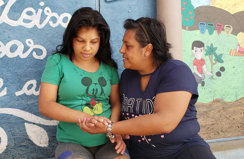 Pepa criou projeto para acolher mães de crianças com deficiência em Luiz Antônio