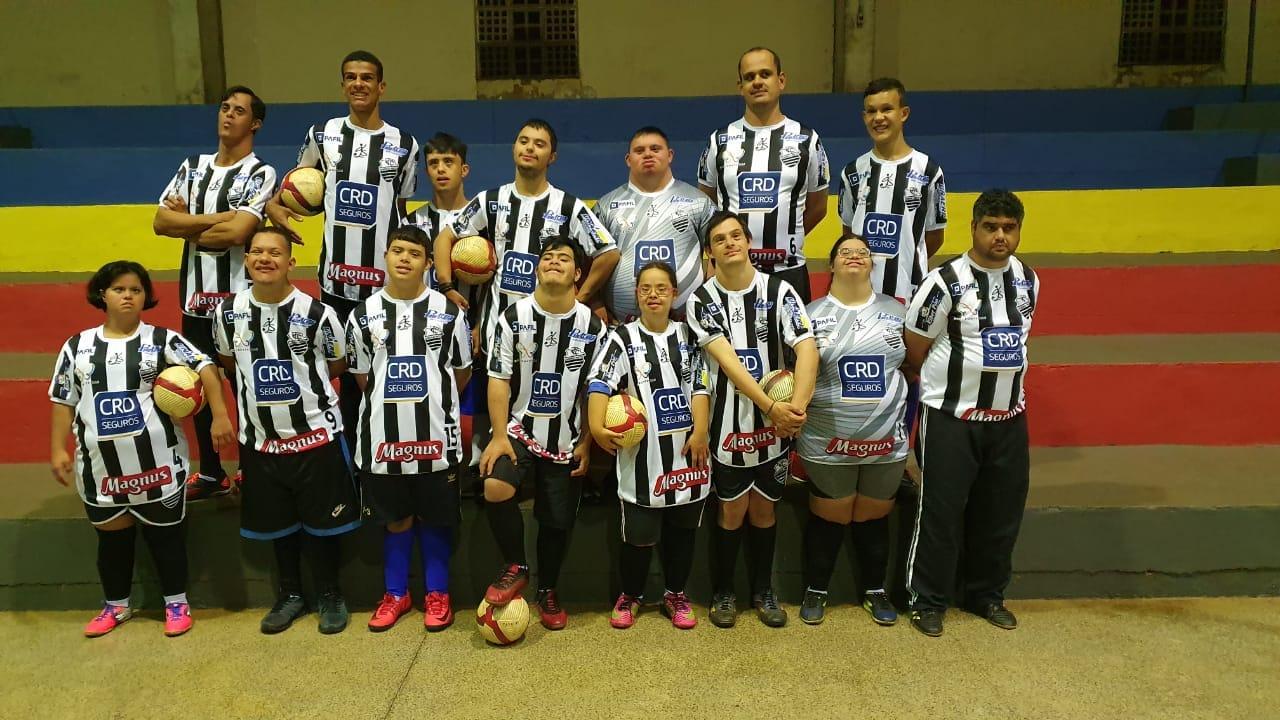 Associação Sem fronteiras futsal down ribeirão preto