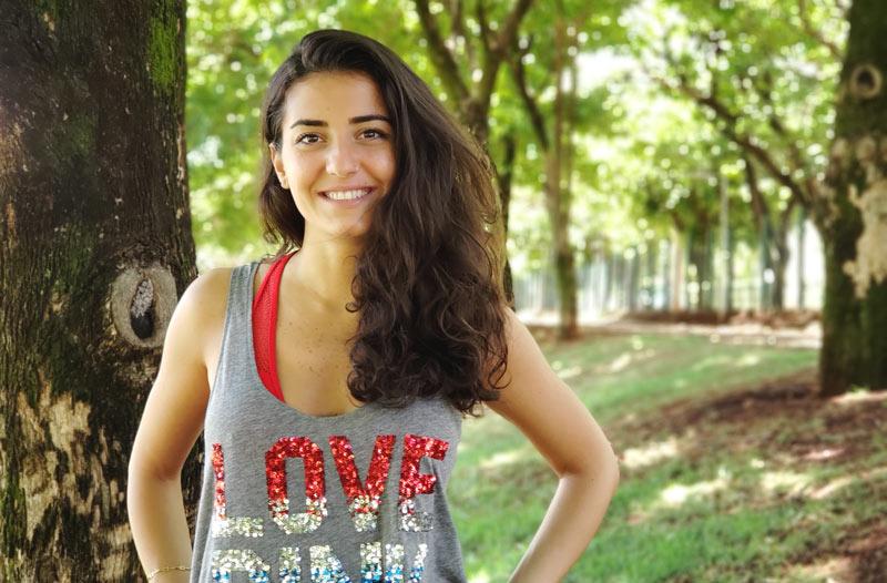 Síria Ola Alataji encontrou em Ribeirão um refúgio para a guerra