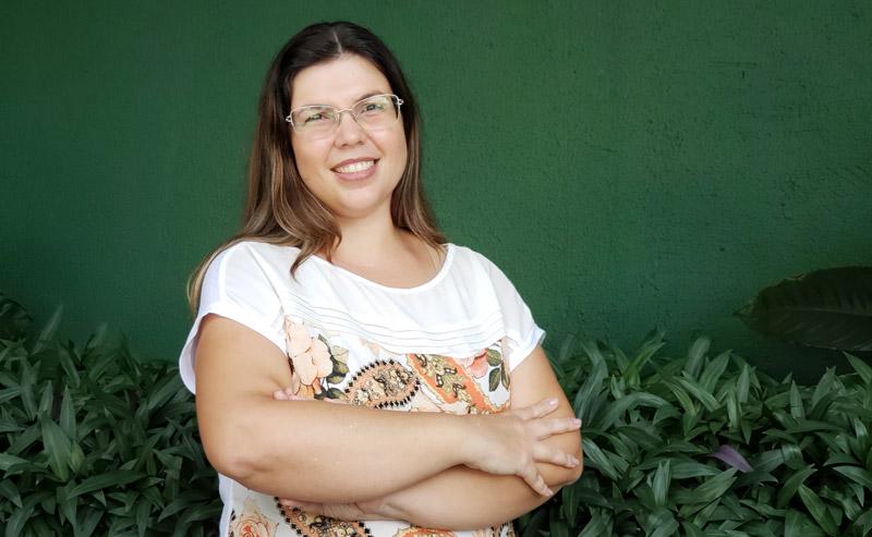 Professora Ingrid acredita na educação feita com afeto