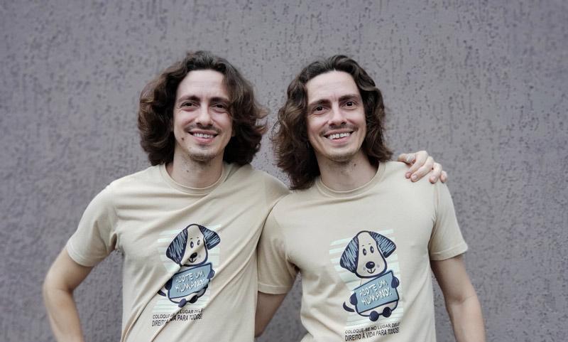 gêmeos do cinema Marcos e André Castro