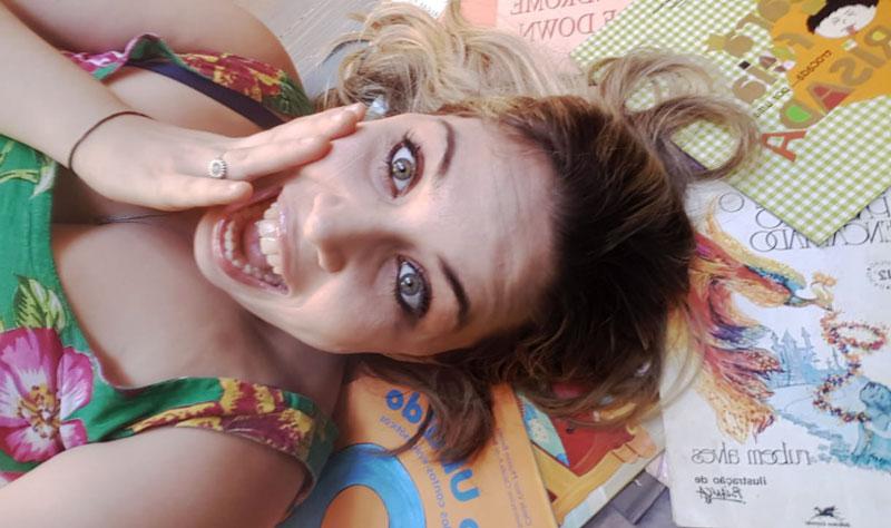 Aline Botelho síndrome de Tourette histórias